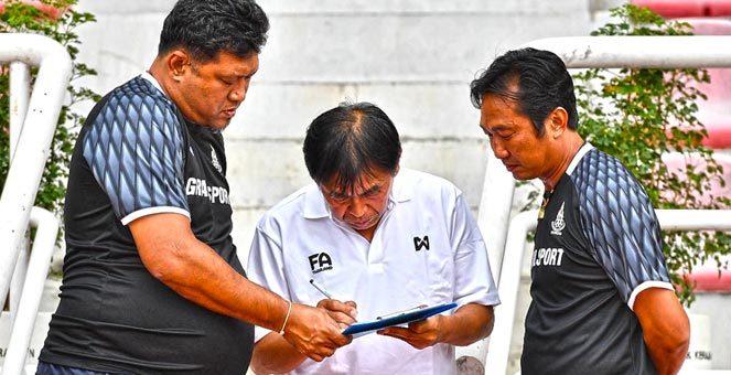 แท็คติกโค้ชโย่ง ทีมชาติไทยก่อนเจอ ติมอร์ ชุดซีเกมส์ ซีเกมส์ 2017
